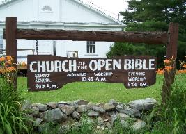 Church of the Open Bible in Athens, ME